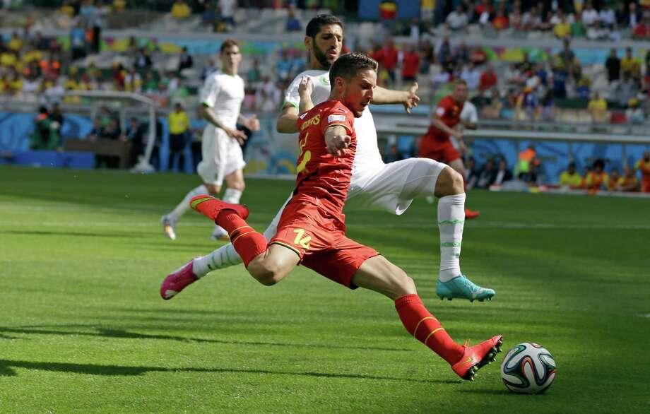 June 17Belgium 2, Algeria 1 Photo: Ricardo Mazalan, Associated Press / AP