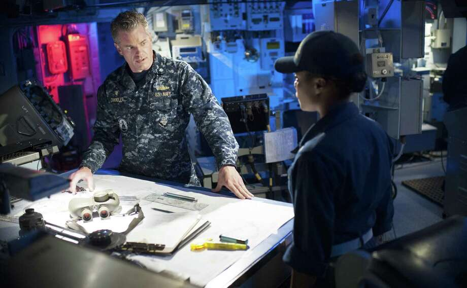 "Eric Dane plays a Navy ship captain  trying to fight the further spread of a deadly virus  in ""The Last Ship."" Photo: TNT / San Antonio Express-News"