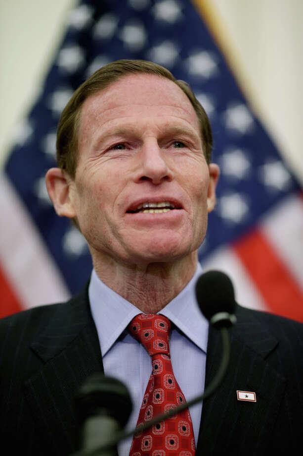 Sen. Richard Blumenthal (D-CT) Photo: Chip Somodevilla, Getty Images / 2014 Getty Images