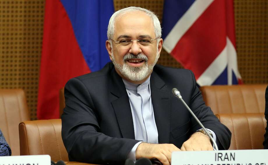 Iranian Foreign Minister Mohammad Javad Zarif waits for the start of closed-door nuclear talks with European foreign policy chief Catherine Ashton in Vienna, Austria, Tuesday, June 17, 2014. (AP Photo/Ronald Zak) Photo: Ronald Zak, Associated Press