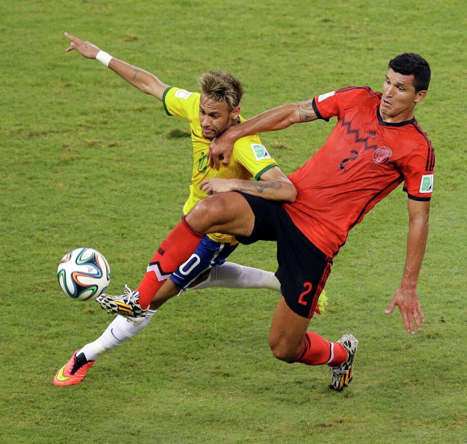 June 17  Brazil 0, Mexico 0 Photo: Themba Hadebe, Associated Press / AP