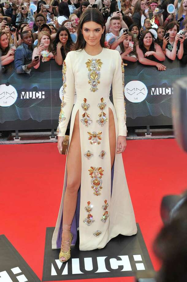 2014Kendall Jenner arrives at the 2014 MuchMusic Video Awards at MuchMusic HQ. Photo: Sonia Recchia, Getty / 2014 Getty Images