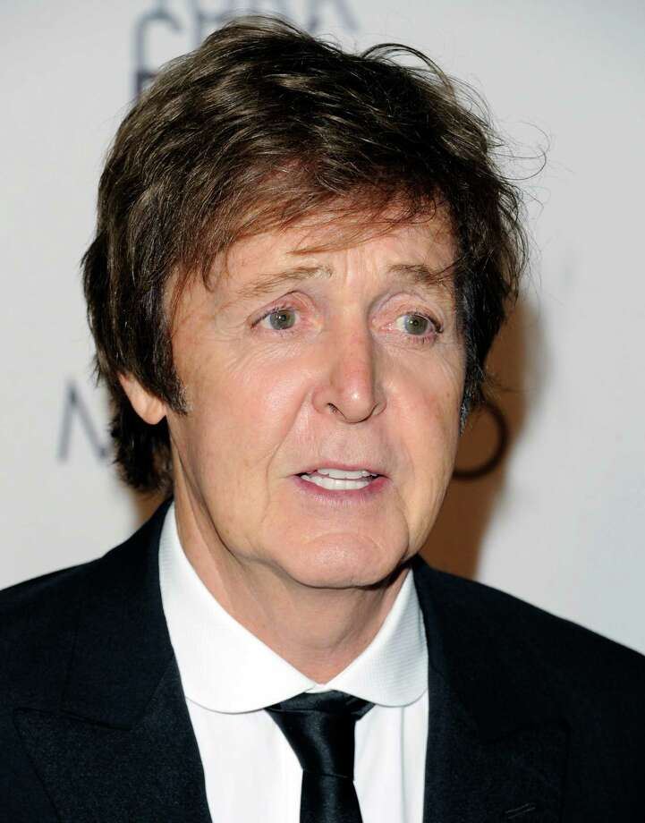 "Sir Paul McCartney attends the New York City Ballet's gala opening night of Paul McCartney's ""Ocean's Kingdom"" on Thursday, Sept. 22, 2011 in New York. (AP Photo/Evan Agostini) Photo: Evan Agostini / AGOEV"