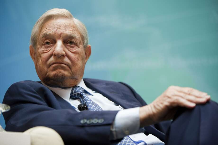 Billionaire George Soros' $500,000 contribution comes days after Kim Ogg filed a quarterly finance report. Photo: Joshua Roberts, Bloomberg