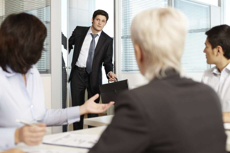 Don't arrive late