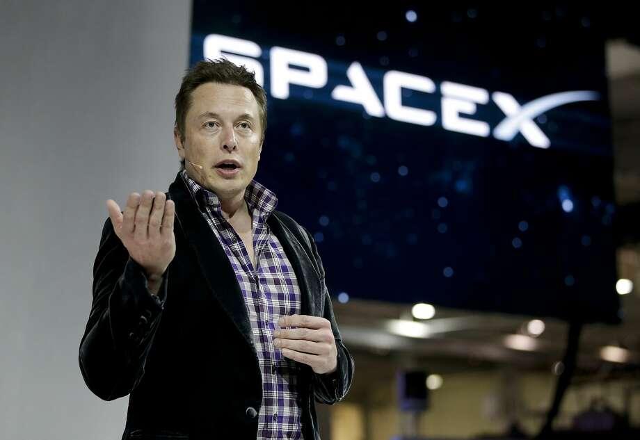 Elon Musk Photo: Jae C. Hong, Associated Press