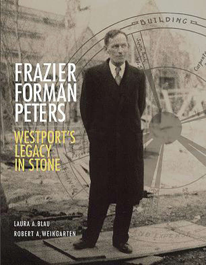 The authors of a book about the late Westport architect and stone-home builder Frazier Forman Peters will speak at a program Saturday, June 28, at the Westport Historical Society. Photo: Westport News/Contributed Photo / Westport News