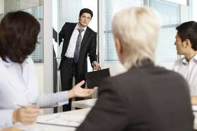 Don't arrive late Arriving late tells your co-workers you are disorganized and that you can't manage your time. It also forces the meeting leader to start over to catch you up. If traveling to another floor, building, or even city, give yourself ample commuting time. Tardiness of any length is annoying to others and can affect future opportunities with the company.