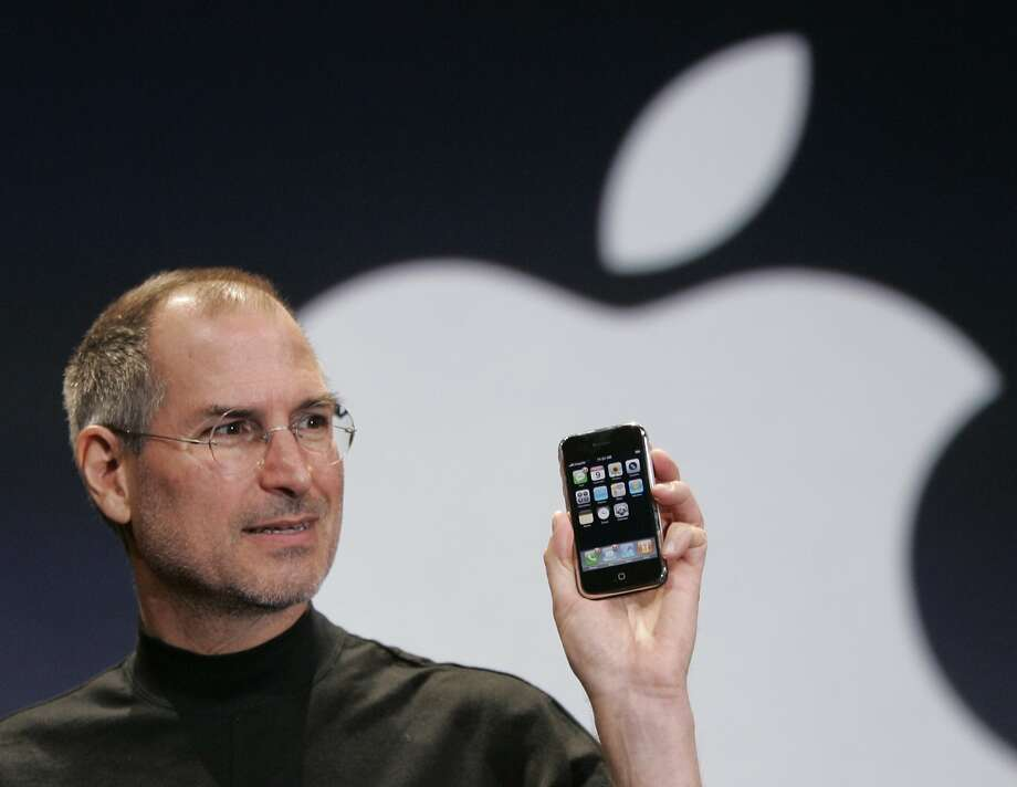 Apple co-founder Steve Jobs left the company in 1985 after clashing with then-CEO John Sculley. In 1997, he returned to Apple as an adviser. Jobs was named CEO in 2000 and held the position until 2011, when he stepped down due to health problems. He died that October. Photo: Paul Sakuma, AP