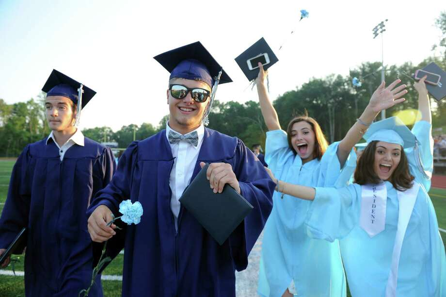 Scenes from Oxford High School's commencement ceremony Tuesday, June 17, 2014. Photo: Autumn Driscoll / Connecticut Post