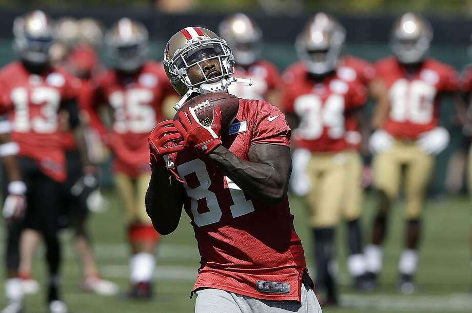 Anquan Boldin, the 49ers' leading receiver last season, could be in line for even more catches. Photo: Jeff Chiu, Associated Press