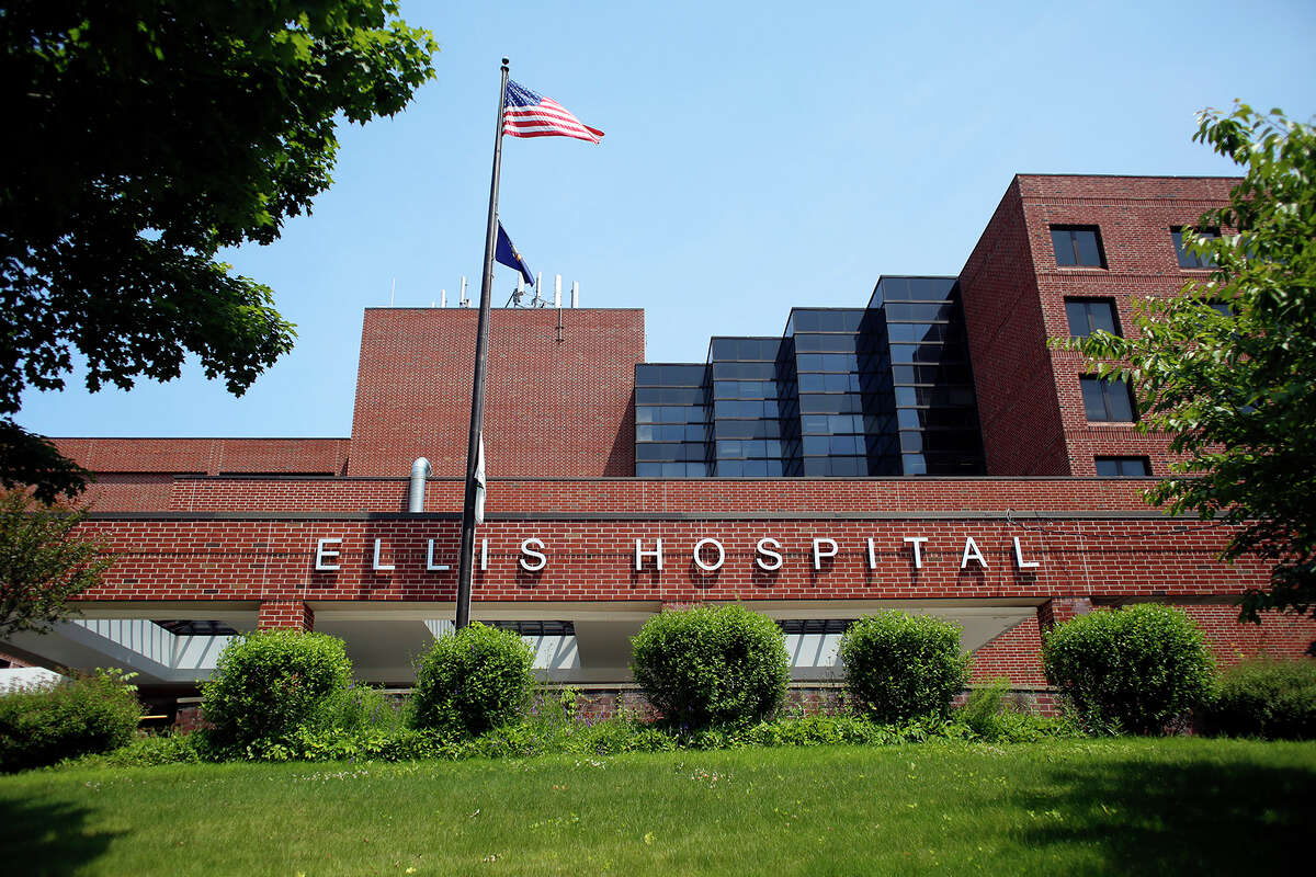 An exterior view of Ellis Hospital Tuesday, June 17, 2014, in Schenectady, N.Y. (Tom Brenner/ Special to the Times Union)