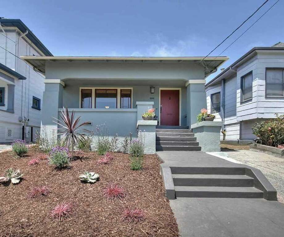 This 2-bedroom, 2-bath bungalow in North Oakland just came to market at 475K, just under the median for the city as of May 2014. Photo: MLS
