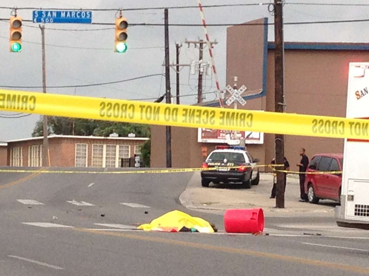 The man was reportedly taking out trash when he was hit by a vehicle.