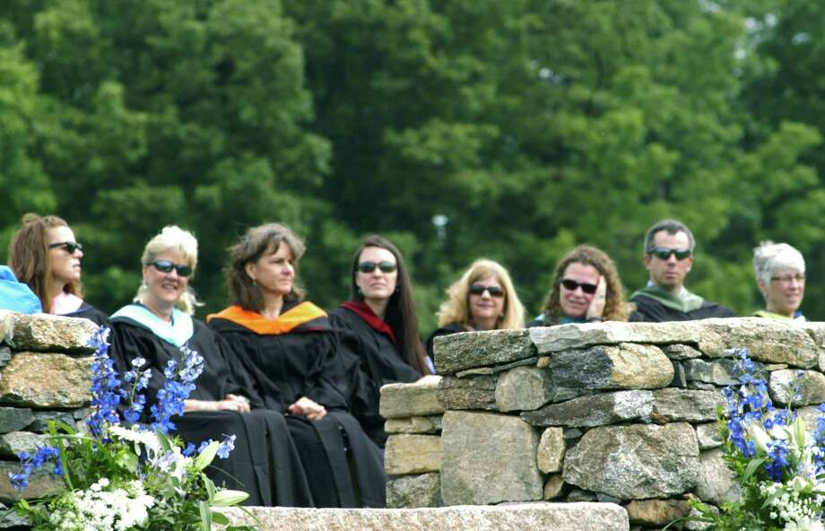The Shepaug Valley High School commencement ceremony, Jne 14, 2014, on the school campus in Washington. Photo: Norm Cummings / The News-Times