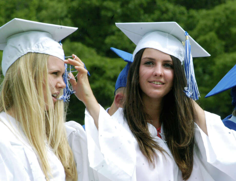 The Shepaug Valley High School graduation ceremony, June 14, 2014, on the school campus in Washington.T Photo: Norm Cummings / The News-Times
