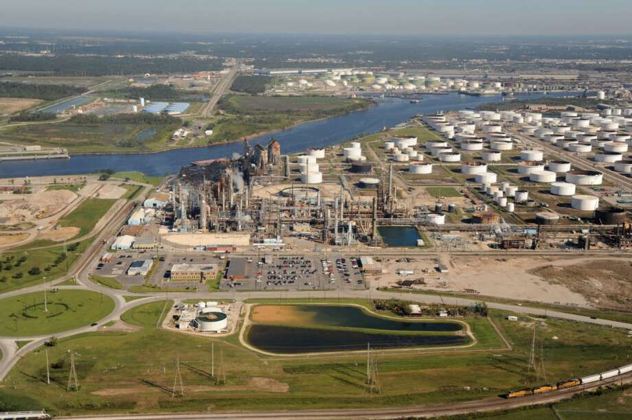 The oil business was booming in 2006, the year Petroleo Brasileiro SA bought a 50 percent interest in Pasadena Refining System Inc., the second-smallest facility on the Houston Ship Channel, from Transcor Astra Group SA for $415.8 million. Photo: The Center For Land Use Interpretation, Bloomberg