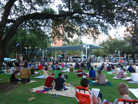 """Thursday, Sept. 19Blanket BingoThe """"Dog Days of Summer"""" is the theme of this week's Blanket Bingo event at Market Square Park. So bring your four-legged friends, lawn chairs and/or blanket to enjoy the fun. Cost is $10 for 10 games and $1 for a dauber. 6-9 p.m.; 301 Milam; marketsquarepark.com. Photo: Courtesy Photo / ONLINE_YES"""