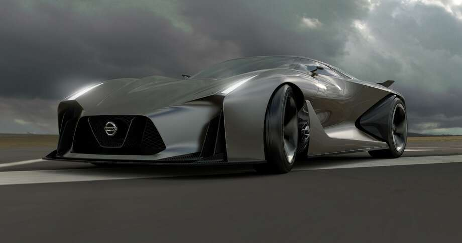 The Nissan Concept 2020 Vision Gran Turismo. Photo: Newspress USA