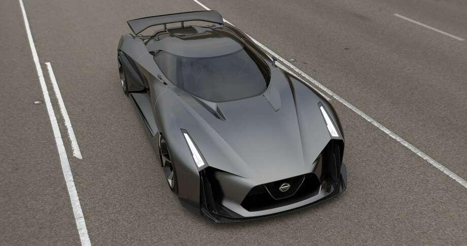Take a look at the new Nissan Concept 2020 Vision Gran Turismo, and keep clicking to see the other cool cars from the Gran Turismo world. Photo: Newspress USA