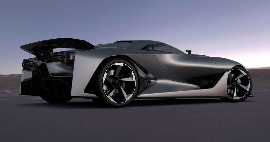 The Nissan Concept 2020 Vision Gran Turismo. Photo: Newspress USA