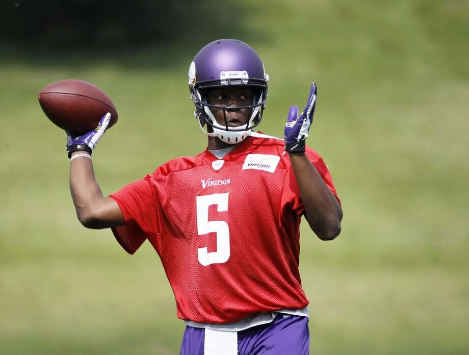 32. Teddy Bridgewater, QB, Minnesota Vikings  Signed: 4 years, $6.84M, $4.49M guaranteed; $3.30M signing bonus Photo: Ann Heisenfelt, Associated Press