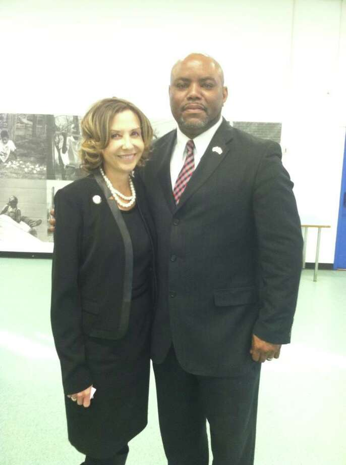Maryland state Senate candidate Will Hanna, pictured with lieutenant governor candidate Jolene Ivey Photo: Courtesy Facebook