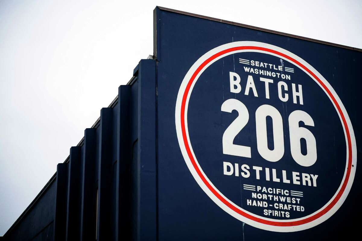 Batch 206, located at 1417 Elliott Avenue West. Keep clicking for a round-up of Seattle's local distilleries.