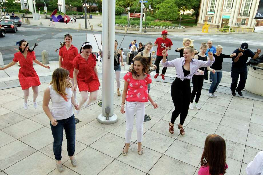 Dozens of artists and musicians will be on hand for Artwalk, an annual arts festival taking place throughout Downtown Stamford on Friday and Saturday, June 27 and 28. Photo: Contributed Photo / Stamford Advocate Contributed