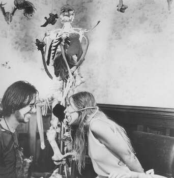 "Edwin Neal and Marilyn Burns in a scene from ""The Texas Chain Saw Massacre,"" 1974.Keep clicking for more celebrities and public figures we've lost this year. Photo: Bryanston Pictures"