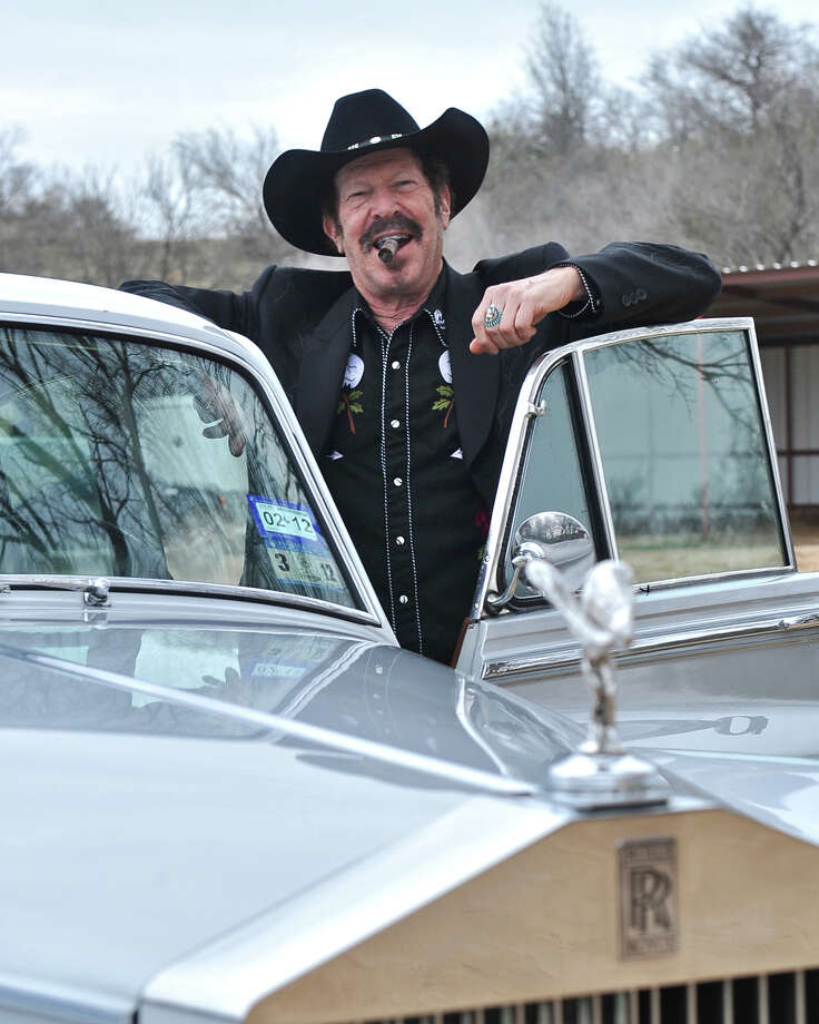 Also featured in the sequel was well-known Texan writer, musician and perennial candidate Kinky Friedman. He had a small role as a sports anchorman. Photo: Courtesy Kinky Friedman