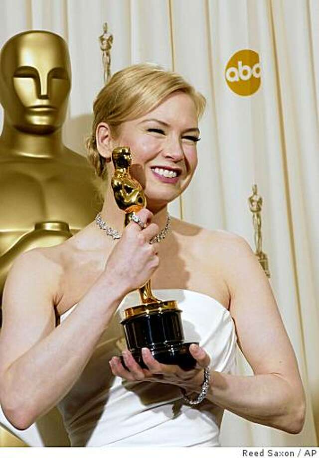 "Since then, they've both won Oscars — Zellweger for best supporting actress in 2003's ""Cold Mountain"" ... Photo: Reed Saxon, AP"