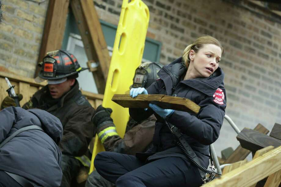 "But, if you're a fan of NBC's ""Chicago Fire,"" you know her now as paramedic Leslie Shay. Photo: NBC, NBCU Photo Bank Via Getty Images / 2013 NBCUniversal Media, LLC"