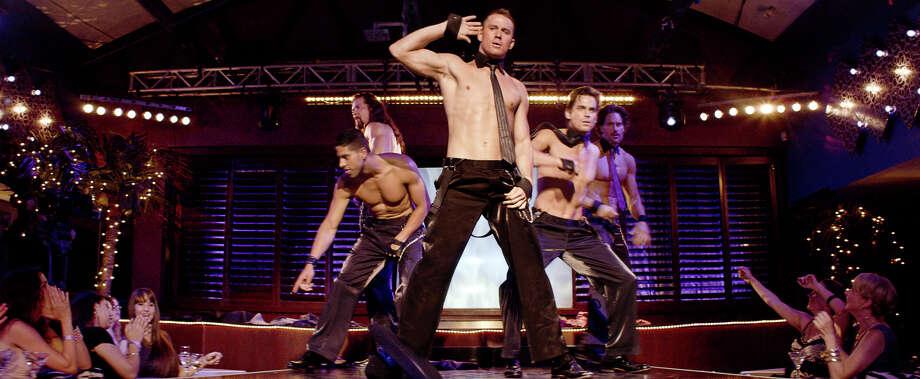 """... or male stripper Ken in """"Magic Mike."""" Photo: AP"""