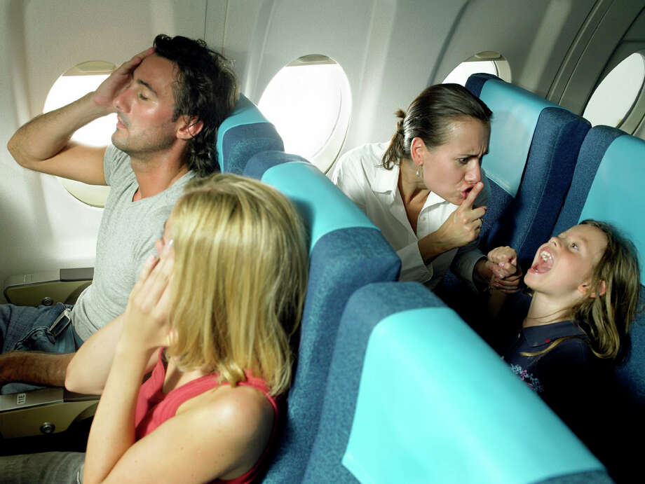 Top five complaints about air travel No. 5. Loud or crying children Photo: Hans Neleman, Getty Creative Stock / (c) Hans Neleman