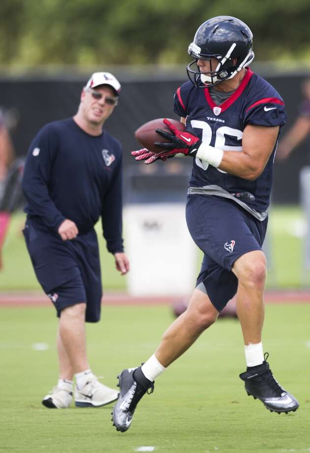 Texans tight end Zach Potter (86) makes a catch. Photo: Brett Coomer, Houston Chronicle