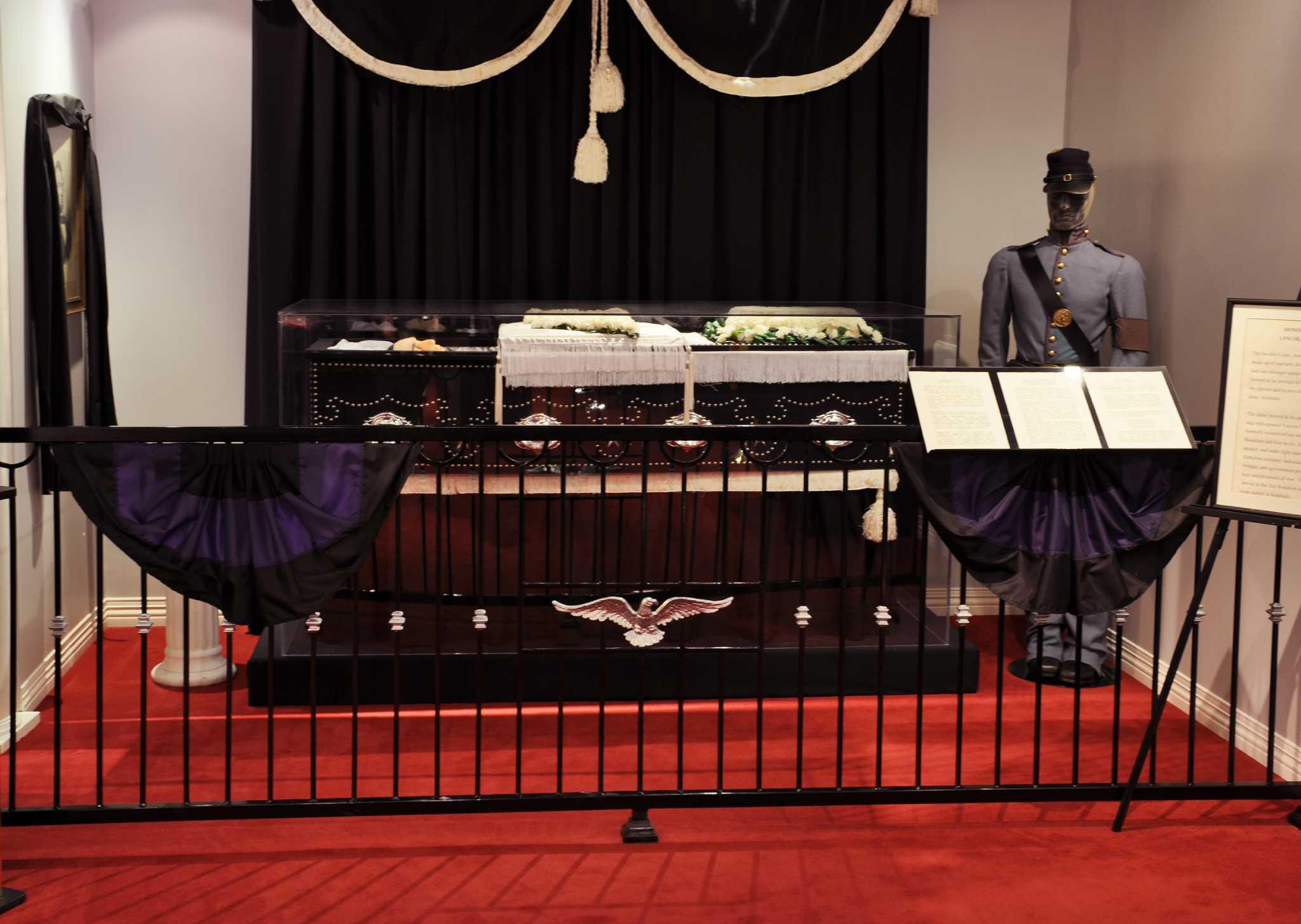 Houston museum collecting macabre lincoln death memorabilia san
