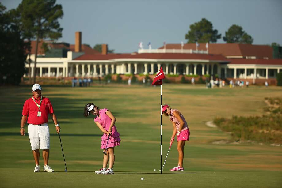 The Pinehurst Resort in North Carolina is a  resort with eight golf courses, and it's number 2 that's  exceptionally expensive. This luxe course was  designed by Donald Ross, and has hosted several major golf tournaments. - worthly.com Photo: Streeter Lecka, Getty Images