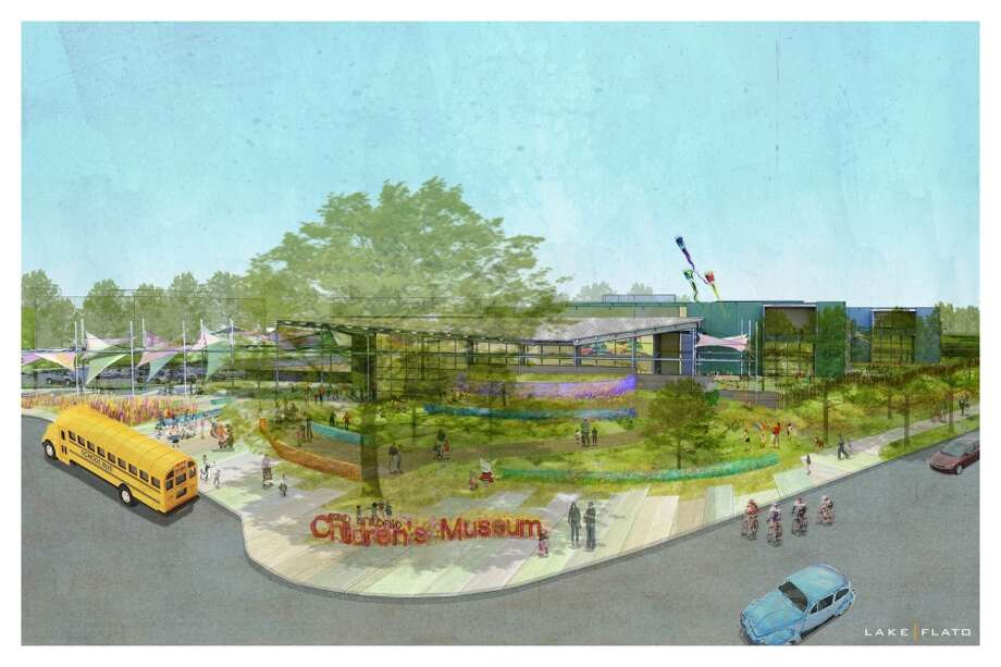 San Antonio Children's Museum's new location, 2800 Broadway Photo: Lake | Flato Architects, Courtesy