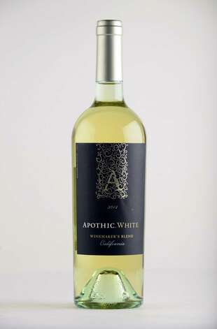 Apothic White, 2012 California Monday May 12, 2014, at the Times Union in Colonie, N.Y. (Will Waldron/Times Union) Photo: WW
