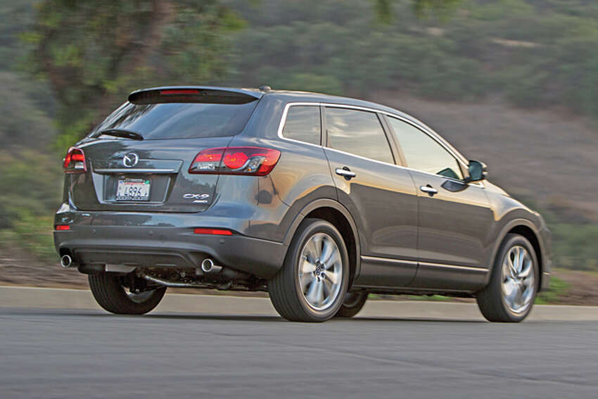 2014 Mazda CX-9 (photo courtesy Mazda Corporation)