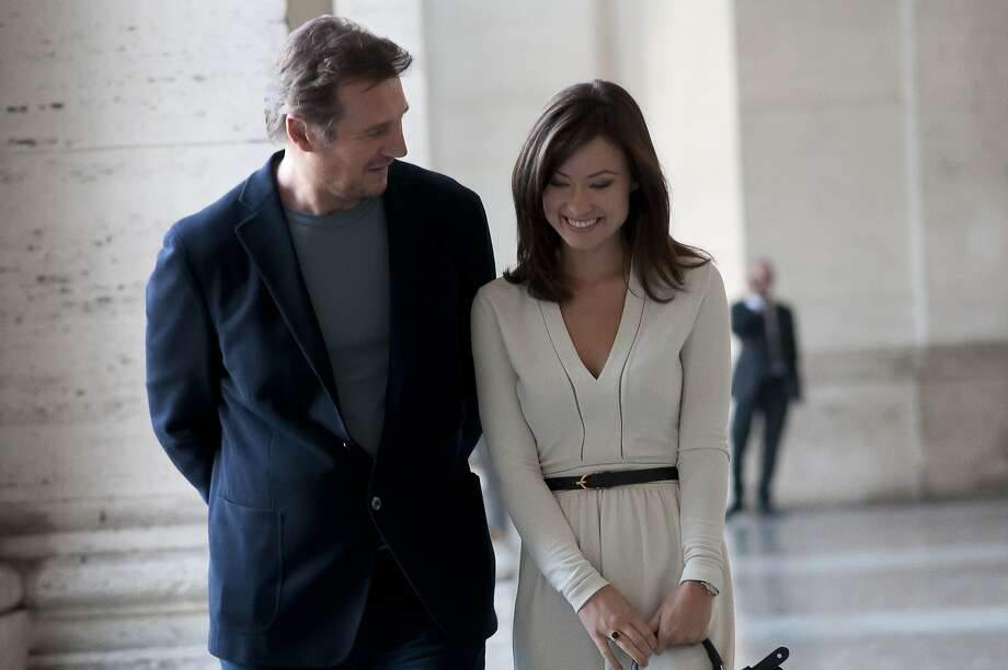 "Liam Neeson is a married author and Olivia Wilde an aspiring novelist who become involved in Paris in ""Third Person."" Photo: Sony Classics"