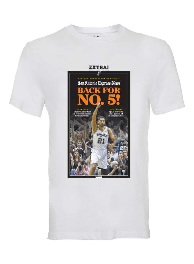 Western Conference T-shirt, $16, www.mysa.com\shop