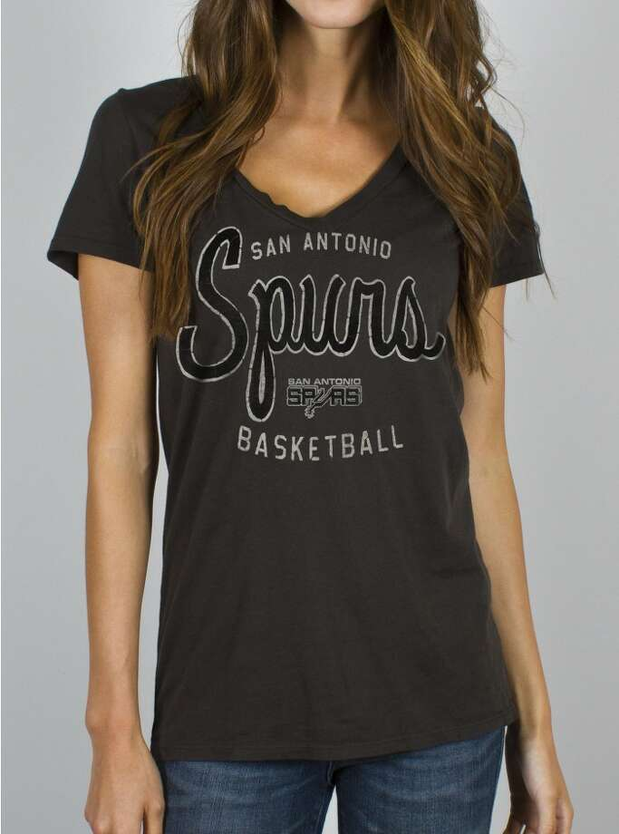 Get your Spurs on with Junk Food Clothing's NBA collection featuring the San Antonio Spurs, $34, www.junkfoodclothing.com