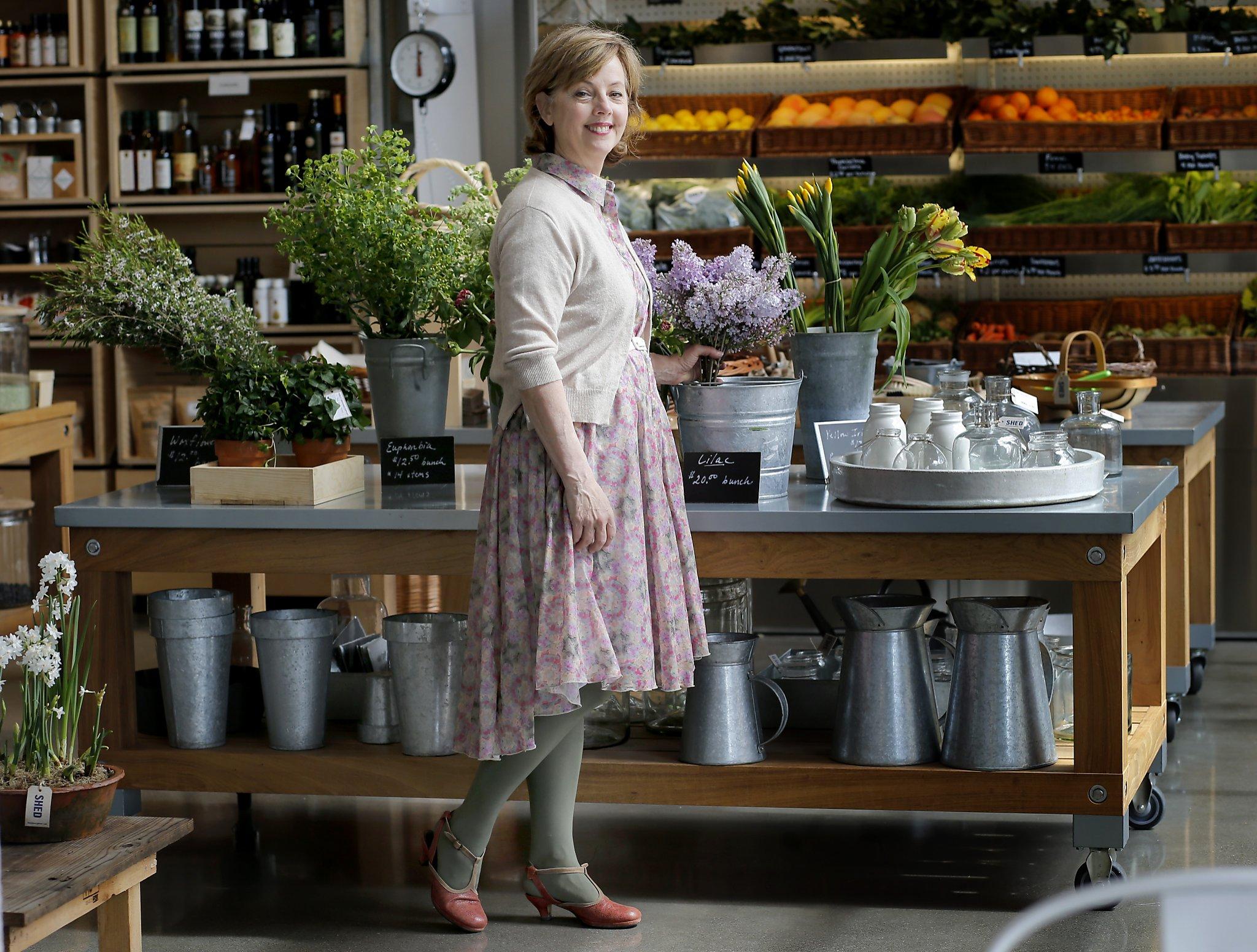^ Healdsburg restaurant Shed a rustic, 'modern grange' - SFGate