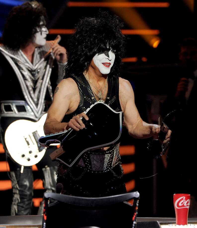 Front man Paul Stanley says that after 40 years he is enjoying being a member of Kiss more than ever. Photo: Kevin Winter, Getty Images