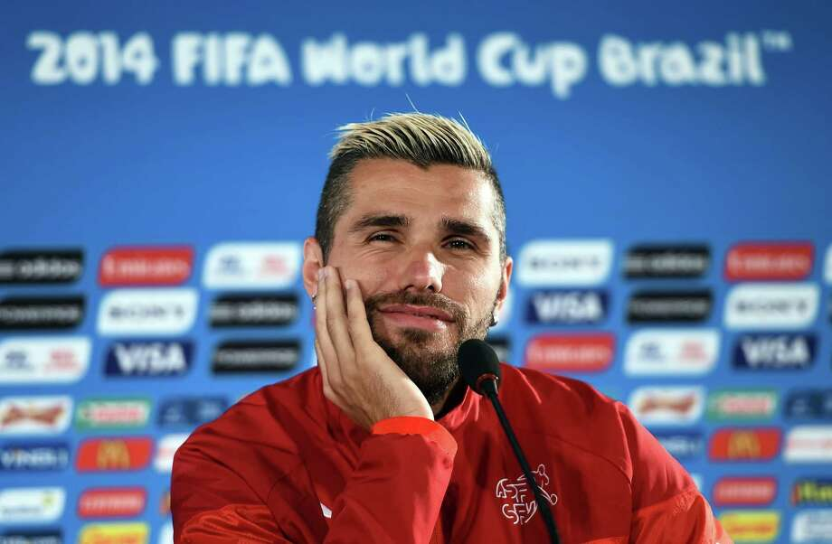 Group HipsterValon Behrami, Switzerland Photo: ANNE-CHRISTINE POUJOULAT, AFP/Getty Images / AFP