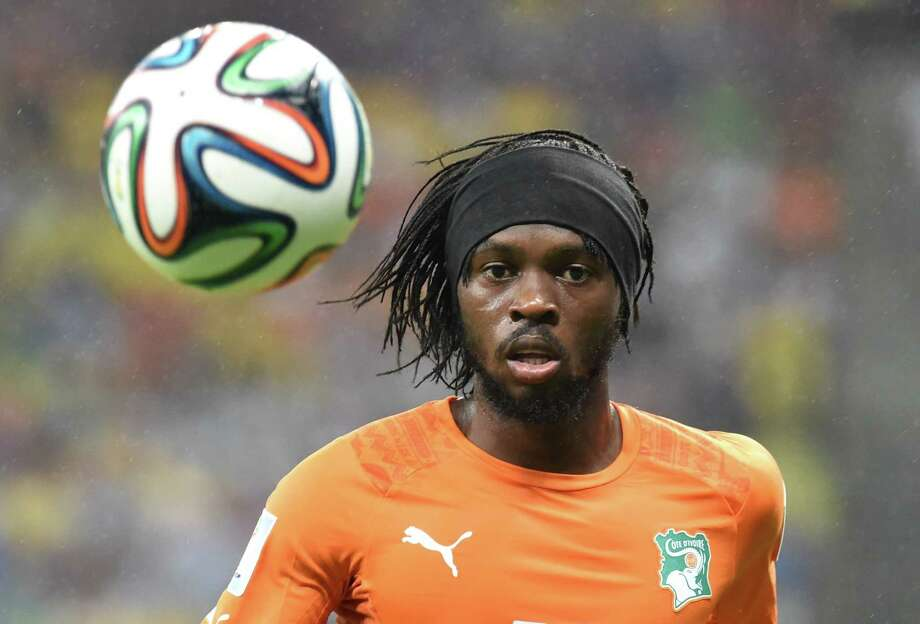 Group FlowyGervinho, Ivory Coast Photo: ISSOUF SANOGO, AFP/Getty Images / AFP