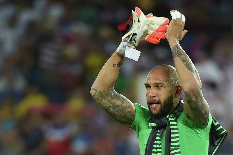 Group BeardTim Howard, United States Photo: EMMANUEL DUNAND, AFP/Getty Images / AFP