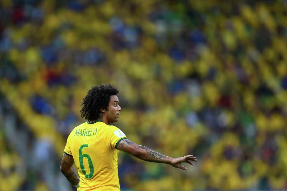 Group Fluffy Marcelo, Brazil Photo: Laurence Griffiths, Getty Images / 2014 Getty Images